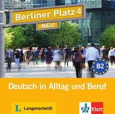 Berliner Platz 4 NEU - 2 Audio-CDs zum Lehrbuchteil