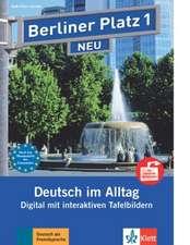 Berliner Platz 1 NEU Tafelbilder für Interactive Whiteboards - 32 Tafelbilder - interaktive PDFs - Portfolio