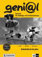 geni@l A1 plus - Arbeitsbuch A1 plus mit Audio-CD