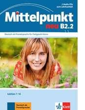 Mittelpunkt B2 (zweibändige Ausgabe). B2.2. 2 Audio-CDs
