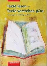 Texte lesen, Texte verstehen 9/10. Arbeitsheft