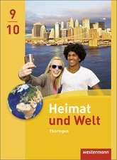 Heimat und Welt 9 / 10. Schülerband. Thüringen