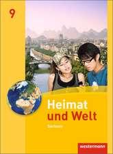 Heimat und Welt 9. Schülerband. Sachsen
