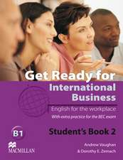 Get Ready for International Business 2. Student's Book
