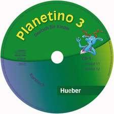 Planetino 3. Audio-CDs zum Kursbuch