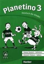 Planetino 3. Glossar Deutsch-Italienisch - Glossario Tedesco - Italiano