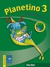 Planetino 3.  Arbeitsbuch mit CD-ROM