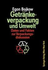 Getränkeverpackung und Umwelt: Auswirkungen der Verpackung von Getränken und flüssigen Molkereiprodukten auf die Umwelt Daten und Fakten zur Verpackungsdiskussion