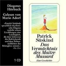 Das Vermächtnis. CD