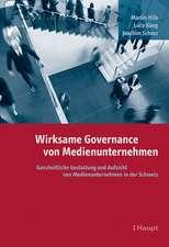 Wirksame Governance von Medienunternehmen
