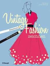 Vintage Fashion zeichnen