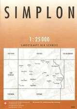 Swisstopo 1 : 25 000 Simplon