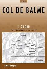 Swisstopo 1 : 25 000 Col de Balme