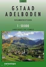 Swisstopo 1 : 50 000 Gstaad - Adelboden