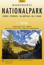 Swisstopo 1 : 50 000 Nationalpark