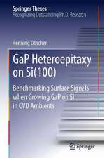 GaP Heteroepitaxy on Si(100): Benchmarking Surface Signals when Growing GaP on Si in CVD Ambients