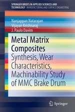 Metal Matrix Composites: Synthesis, Wear Characteristics, Machinability Study of MMC Brake Drum