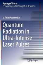 Quantum Radiation in Ultra-Intense Laser Pulses