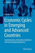 Economic Cycles in Emerging and Advanced Countries: Synchronization, International Spillovers and the Decoupling Hypothesis