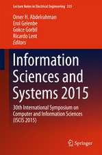 Information Sciences and Systems 2015: 30th International Symposium on Computer and Information Sciences (ISCIS 2015)