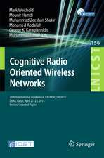 Cognitive Radio Oriented Wireless Networks: 10th International Conference, CROWNCOM 2015, Doha, Qatar, April 21-23, 2015, Revised Selected Papers