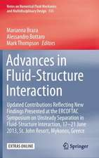 Advances in Fluid-Structure Interaction: Updated contributions reflecting new findings presented at the ERCOFTAC Symposium on Unsteady Separation in Fluid-Structure Interaction, 17-21 June 2013, St John Resort, Mykonos, Greece