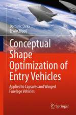 Conceptual Shape Optimization of Entry Vehicles: Applied to Capsules and Winged Fuselage Vehicles