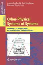 Cyber-Physical Systems of Systems: Foundations – A Conceptual Model and Some Derivations: The AMADEOS Legacy
