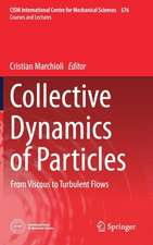 Collective Dynamics of Particles: From Viscous to Turbulent Flows