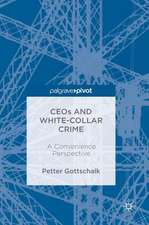 CEOs and White-Collar Crime: A Convenience Perspective