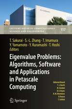 Eigenvalue Problems: Algorithms, Software and Applications in Petascale Computing: EPASA 2015, Tsukuba, Japan, September 2015