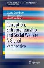 Corruption, Entrepreneurship, and Social Welfare: A Global Perspective
