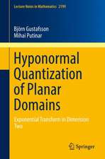 Hyponormal Quantization of Planar Domains: Exponential Transform in Dimension Two