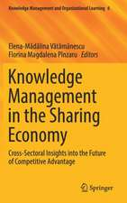 Knowledge Management in the Sharing Economy: Cross-Sectoral Insights into the Future of Competitive Advantage