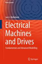Electrical Machines and Drives: Fundamentals and Advanced Modelling