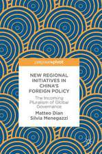 New Regional Initiatives in China's Foreign Policy : The Incoming Pluralism of Global Governance
