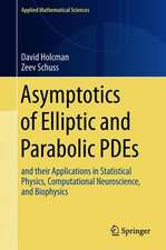 Asymptotics of Elliptic and Parabolic PDEs: and their Applications in Statistical Physics, Computational Neuroscience, and Biophysics
