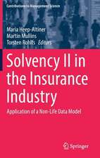 Solvency II in the Insurance Industry: Application of a Non-Life Data Model
