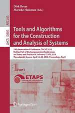 Tools and Algorithms for the Construction and Analysis of Systems: 24th International Conference, TACAS 2018, Held as Part of the European Joint Conferences on Theory and Practice of Software, ETAPS 2018, Thessaloniki, Greece, April 14-20, 2018, Proceedings, Part I