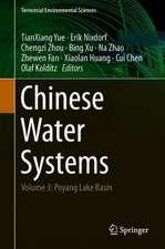 Chinese Water Systems: Volume 3: Poyang Lake Basin