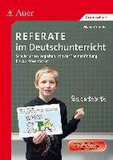 Referate im Deutschunterricht
