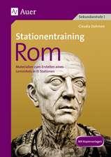 Stationentraining Rom