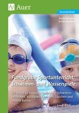 Fundgrube Sportunterricht Schwimm- & Wasserspiele