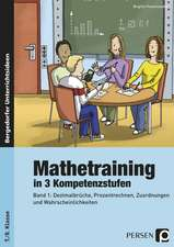 Mathetraining in 3 Kompetenzstufen - 7./8. Klasse