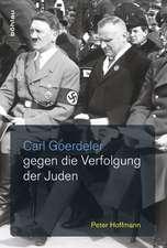 Carl Goerdeler gegen die Verfolgung der Juden