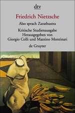 Also sprach Zarathustra I - IV