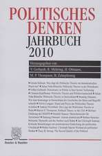 Politisches Denken. Jahrbuch 2010