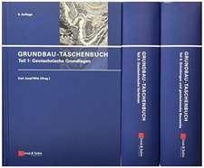 Grundbau–Taschenbuch, Teile 1 – 3