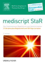 mediscript StaR Skripten-Paket Hammerexamen mit Registerheft