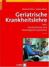 Geriatrische Krankheitslehre 1